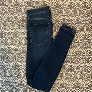 Abercrombie and Fitch high waisted super skinny